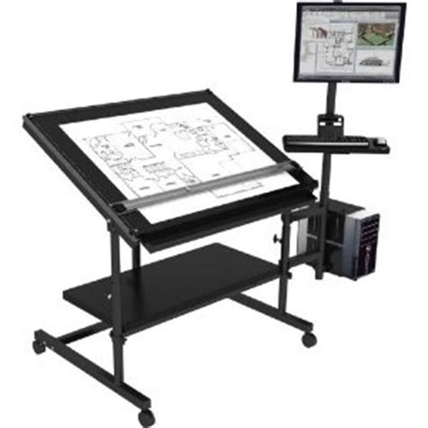 Drafting Table With Computer Computer Desk W Drafting Table Excellent Design Ideas Pinterest