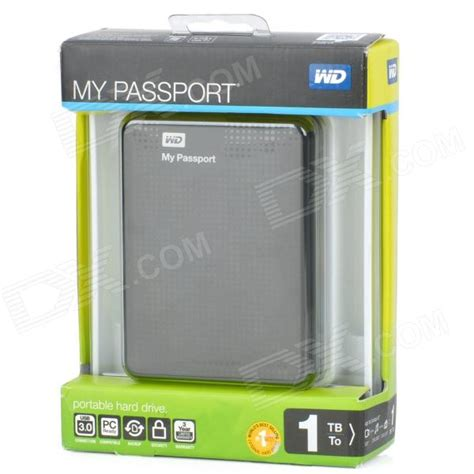 Disk My Passport 1 buy genuine western digital my passport 2 5 quot usb 3 0 hdd