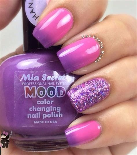 color changing nail in water 25 best ideas about mood nail on mood