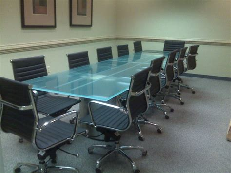 Glass Top Meeting Table Study Glass Conference Table Stoneline Designs