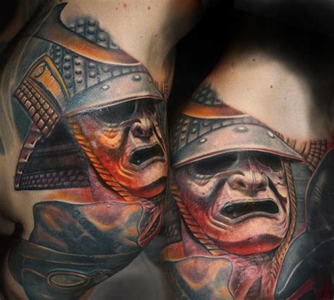 tattoo tony matt s samurai by tony adamson tattoos