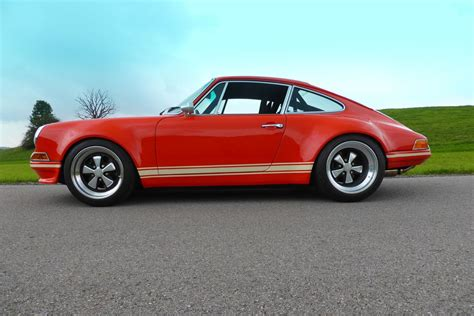 singer porsche red lightspeed classic 911 is the porsche restomod singer