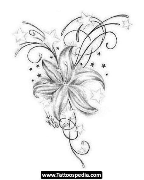 single flower tattoo designs single flower tattoos tattoospedia