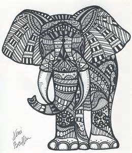 tribal coloring pages tribal elephant by sharpieimage on etsy 10 00 paul