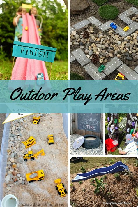 diy outdoor play areas  kids faithful provisions