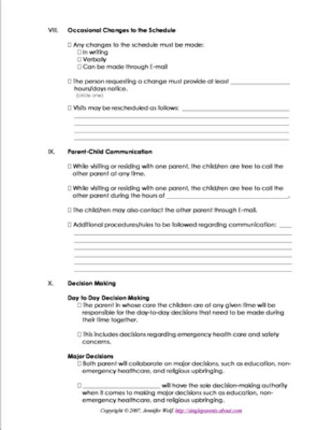 california parenting plan template how to be more successful at coparenting coparenting