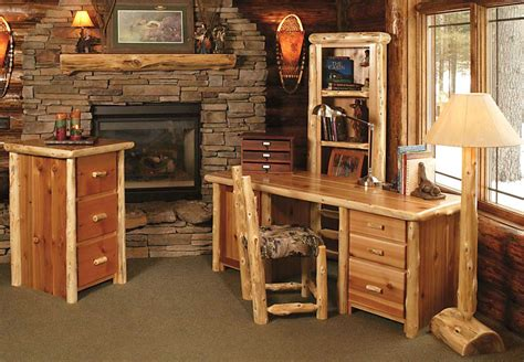 rustic office design luxury home office furniture rustic