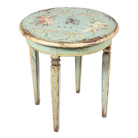 hand painted accent tables best 10 distressed end tables ideas on pinterest redo