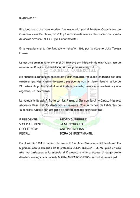carta de retiro junta de accion comunal pei colegio caldas
