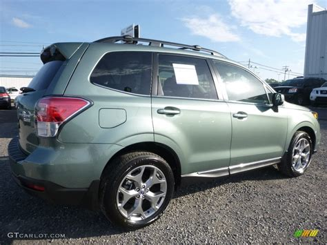 green subaru forester 2017 green metallic subaru forester 2 5i touring