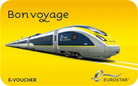 Bon Voyage 1b buy eurostar e vouchers
