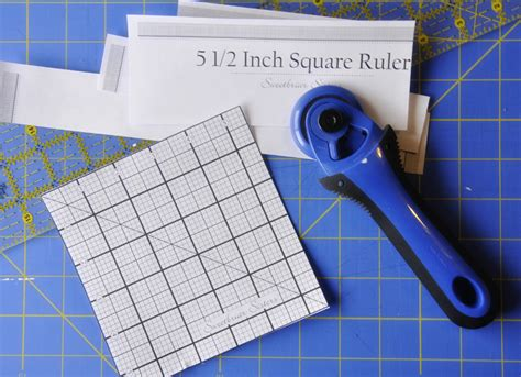 printable quilting ruler free 5 1 2 inch square quilting ruler printable