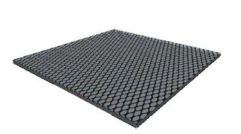 tappeti di gomma per esterni pavimentazione tappeto in gomma non drenante nero