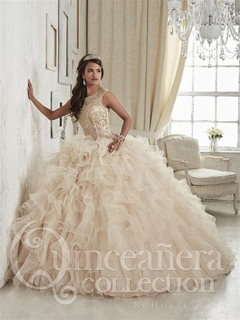 house of wu 26835 sparkling quinceanera dress novelty