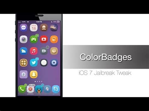 how to hack home design on iphone customize notification badges on home screen app icons jailbreak tweak