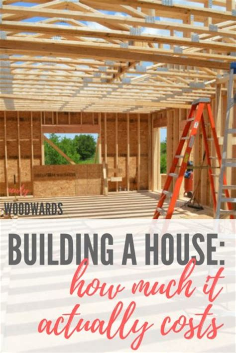 cost to build custom home building our own house how much did it actually cost