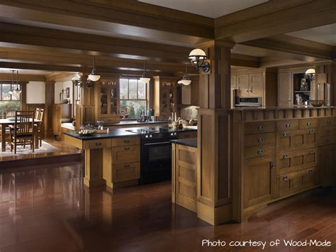 Craftsman Style Built In Cabinets by Dissecting The Design An Arts Crafts Kitchen The