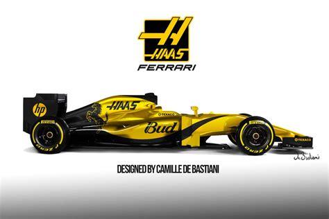 livery f1 haas f1 livery formula1