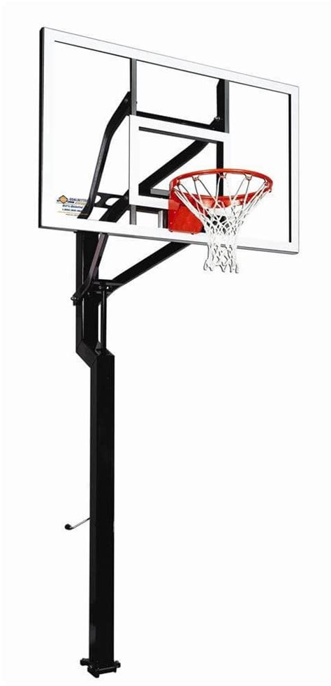best backyard basketball hoop goalsetter all american in ground basketball hoop review
