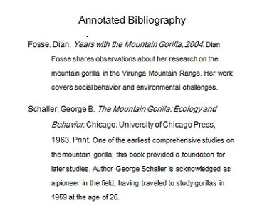 biography vs bibliography writing an annotated bibliography for a paper