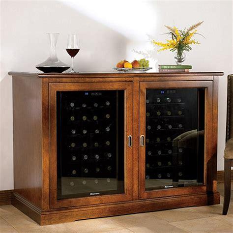 siena mezzo wine credenza walnut   wine