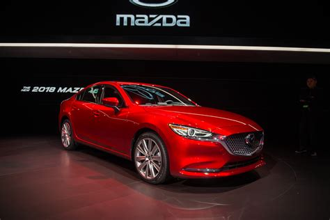 mazda 3 or mazda 6 2018 mazda 6 chases a more premium path