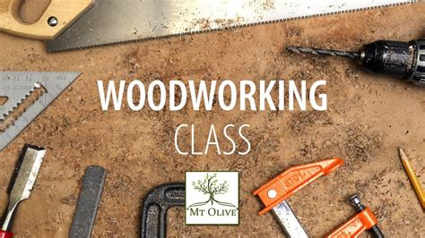 beginning woodworking class mt olive