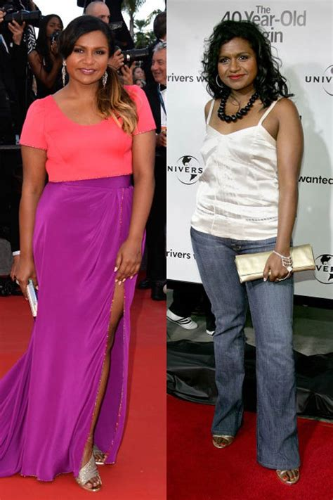 mindy kaling now now and then 45 celebrities first red carpet moments