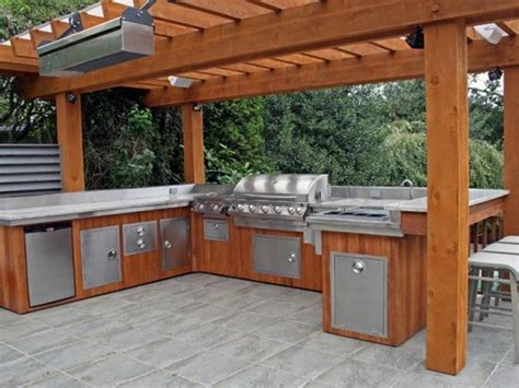 kitchen covered rustic outdoor kitchen rustic outdoor