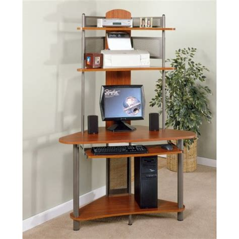 Corner Desk Cherry Wood Top 10 Best Corner Computer Desk With Hutch In 2018 Reviews Our Great Products