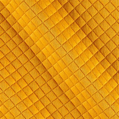 Quilted Upholstery Fabric Telio Mini Quilted Knit Yellow Discount Designer