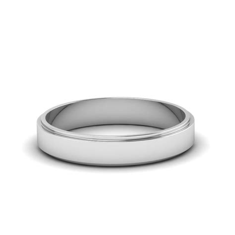 small wedding band for him in 14k yellow gold