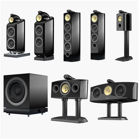 Bowers And Wilkins Home Theater by Bowers Wilkins 800 Series 3d 3ds