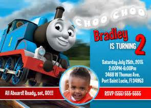 Thomas The Train Decorations Tips To Create Thomas The Train Birthday Invitations All