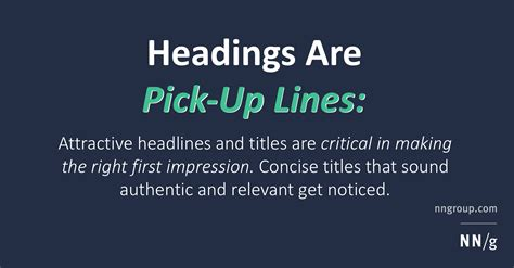 Tips For Picking Up From The by Headings Are Up Lines 5 Tips For Writing Headlines