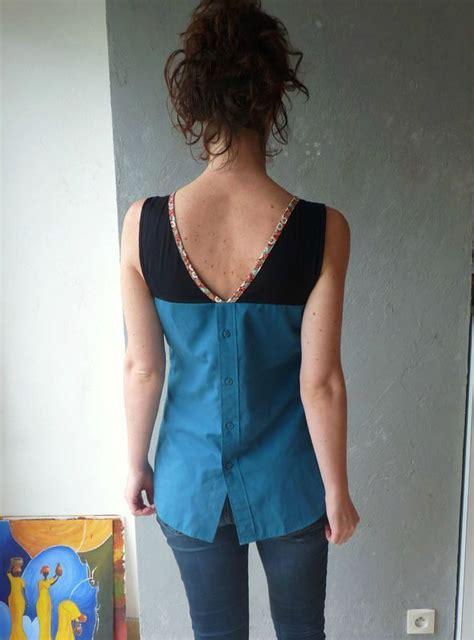 Idée Dressing Femme by Tunique A Du Dressing Chic Faite Avec Une Vieille Chemise