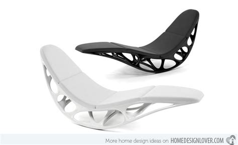 black white futuristic couch rock with comfort and style 15 modern rocking chairs