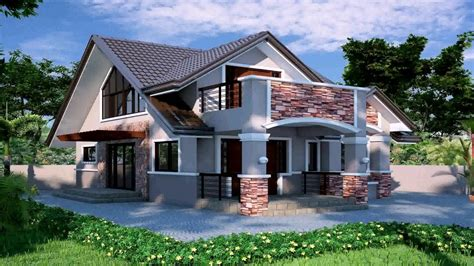 house design for bungalow in philippines house design in the philippines bungalow youtube