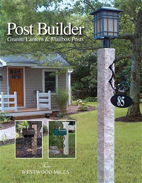 granite light posts massachusetts cobblestone benches mailbox l posts