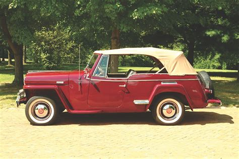 willys jeepster the 1949 willys overland jeepster heacock classic insurance