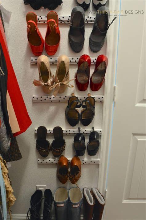 high heel organizer 75 creative diy storage ideas to organize your space