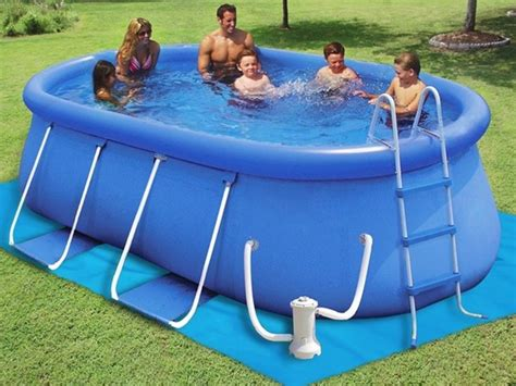 inflatable backyard pools 1000 images about above ground ring pools on pinterest