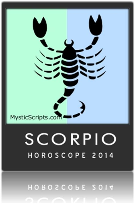 scorpio horoscope 2014 free predictions and forecasts
