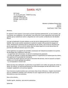 exemple de lettre de motivation promotion interne 2016