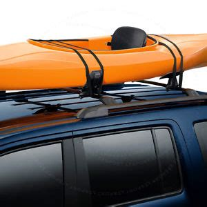 Jeep Canoe Roof Rack by 05 16 Jeep Roof Saddle Rack Kayak Boat Canoe Board Car Suv