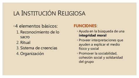 institucin de la religin 5 la familia como instituci 243 n social
