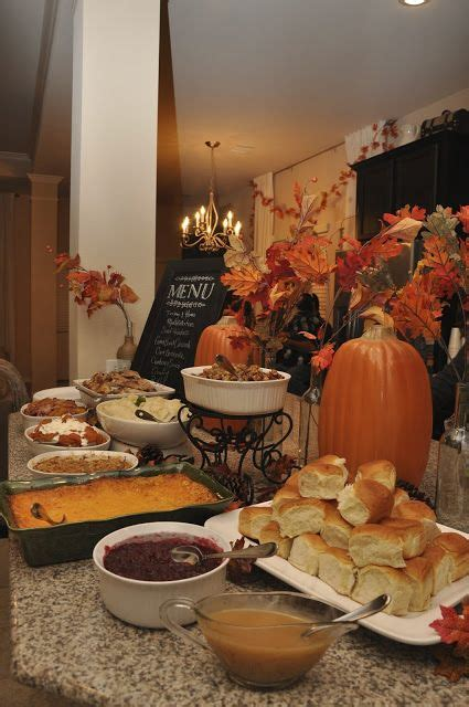 and seek to show hospitality thanksgiving dinner buffet