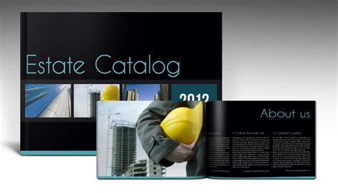 indesign free templates brochure estate brochure free indesign template