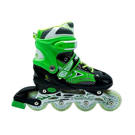 Frame Sepatu Roda jual power line inline skate sepatu roda hijau