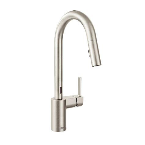 no touch kitchen faucet moen no touch faucet